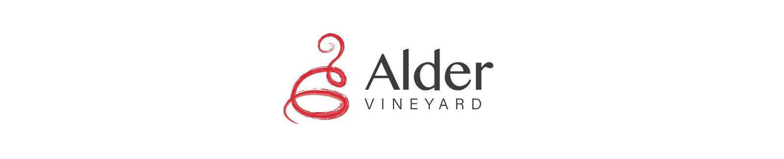 light logo - Alder Vineyard Branding