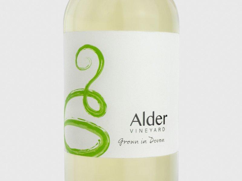 Front - Alder Vineyard wine labels- Alder Vineyard wine labels